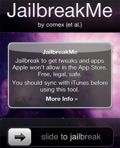 Jailbreak iPhone 4, iPad or iPod Touch
